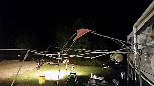 Bare Canopy Frame
