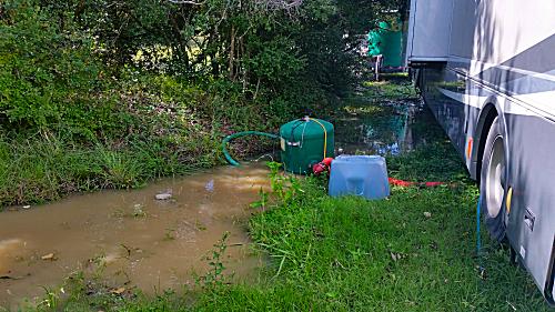 Overflowing Pond