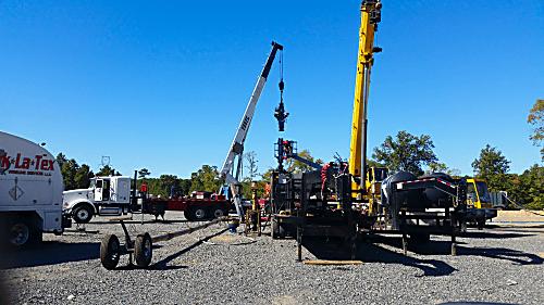 New Frack Site Work