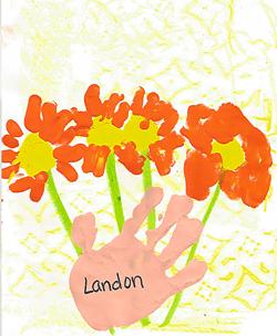 Landon's Art Work