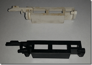 Microwave Open Lever Part