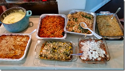 Thanksgiving Meal Table 3