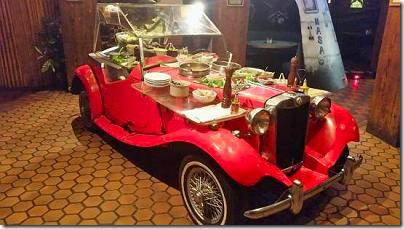 Magic Time Machine Salad Car