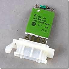 Blower Speed Control Module