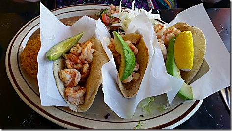 Lindo Grilled Shrimp Tacos