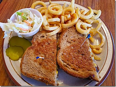 Peggy Sue's 50's Diner.Patty Melt