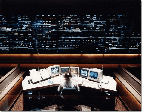 Bailey Yard Control Room