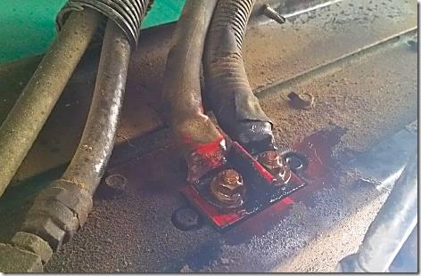 Generator 12 volt  Connections