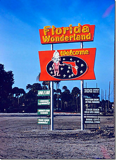 Florida Wonderland Sign