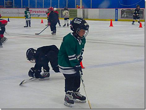 Landon Hockey - On The Ice