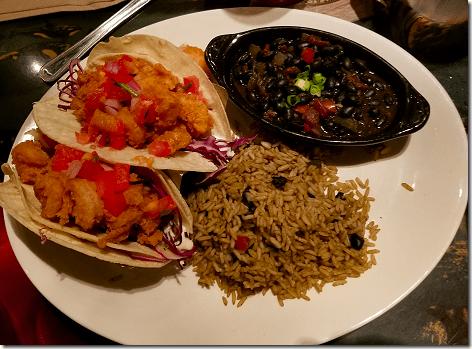 Rainforest Cafe Shrimp Tacos