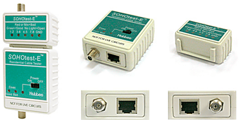 SOHOtest-E Ethernet Cable Tester