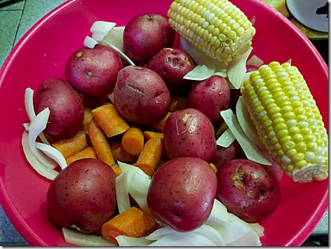 Instant Pot Pot Roast Veggies