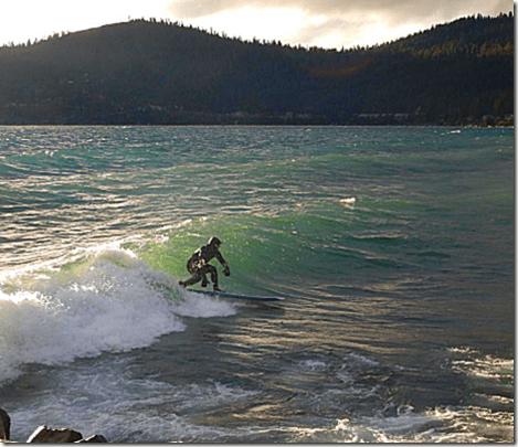Lake Tahoe Surfing