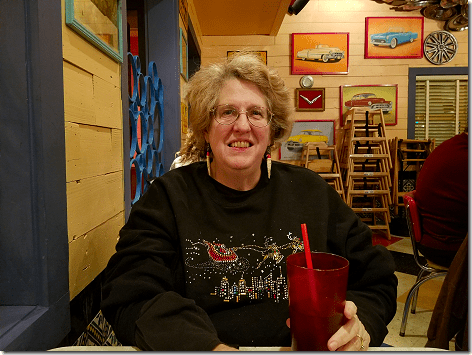 Chuy's with Jan
