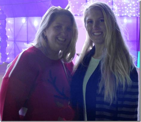 Houston Magical Winter Lights Brandi and Piper