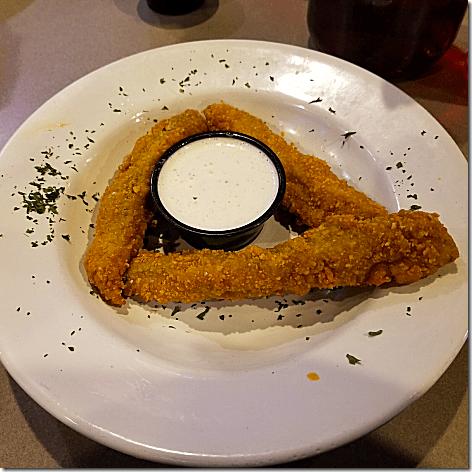 Plucker's Fried Pickles