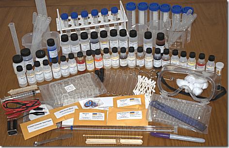 Chemistry Kit Contens