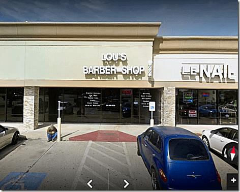 Lou's Barber Shop