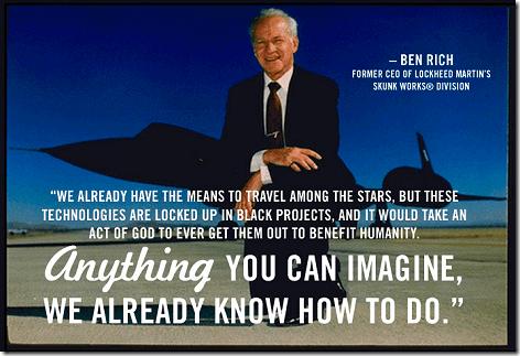 Ben Rich = Black Projects