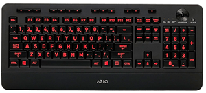 Azio Lighted Keyboard