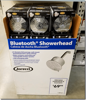 Bluetooth Showerhead