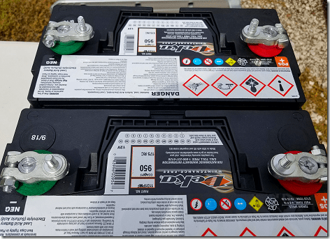 New Deka Rig Batteries