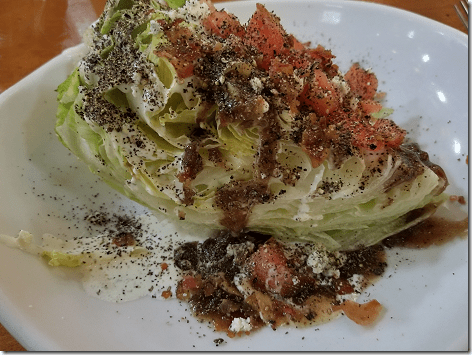Saltgrass Wedge Salad 6