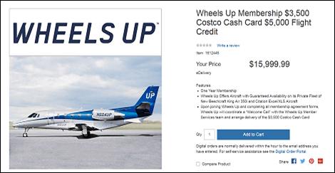 Costco Jet Sale