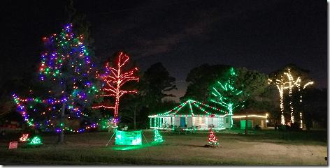 Cherry Picker Christmas Lights