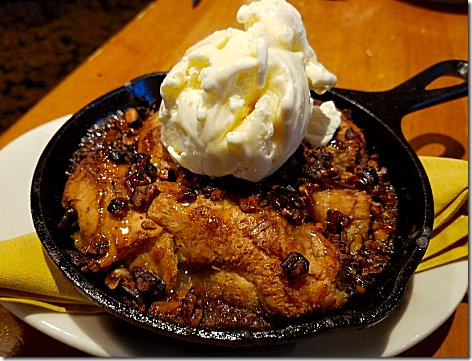 Saltgrass Pecan Pie Bread Pudding