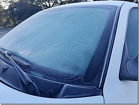 Windshield Freeze Jan 2019