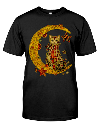 Cat on the Moon Shirt
