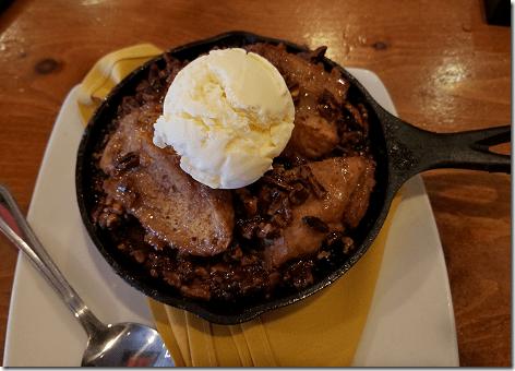 Saltgrass Valentines Pecan Pie Bread Pudding
