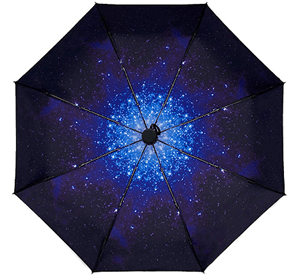 Compact Umbrella Starry Night