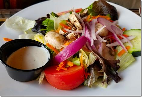 Crazy Alan's Side Salad