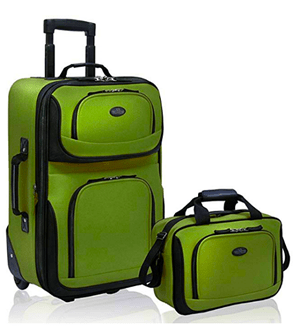 Cruise Suitcases Green