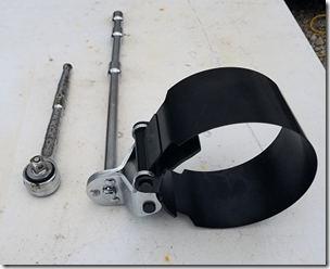 Filter Wrench and Handle