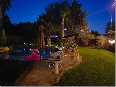 Brandi's Backyard at Night 2