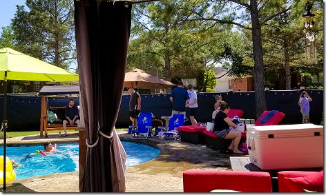 Brandi's Easter Pool Party