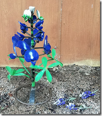 Chris' Metal Bluebonnet