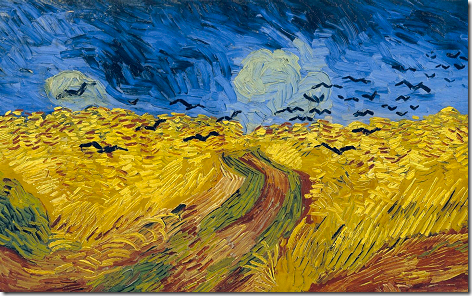 Van Gogh Wheatfield with Crows Full