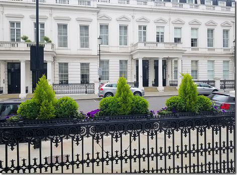 London Lancaster Gate Lunch View