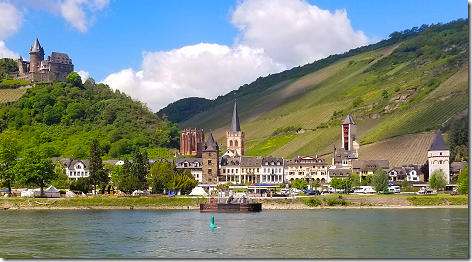 Cruising The Rhine Castle 4 with RV