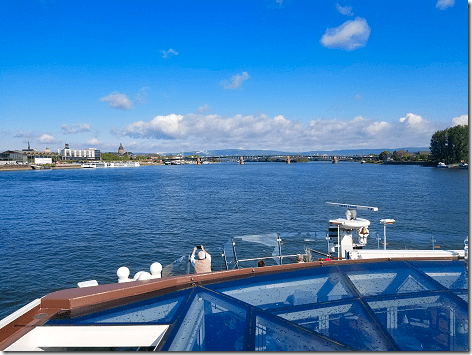 Cruising The Rhine City Bridge