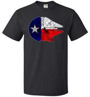Texas Millennium Falcon Tshirt