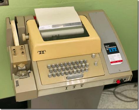 ITT Teletype