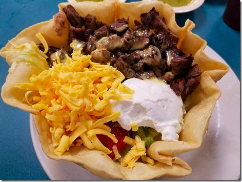 Los Ramirez Beef Fajita Taco Salad 4
