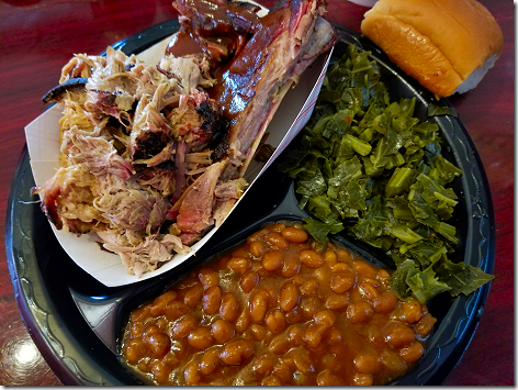 306 BBQ Greg 2 Meat Plate