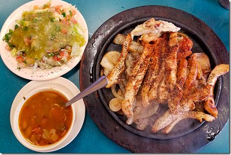 Los Ramierz Spicy Chicken Fajitas